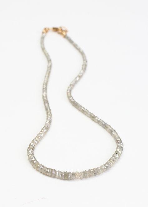 20ct Champagne Diamond Necklace