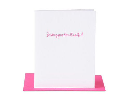 Breast Wishes Card