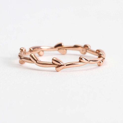 Rose Willow Ring