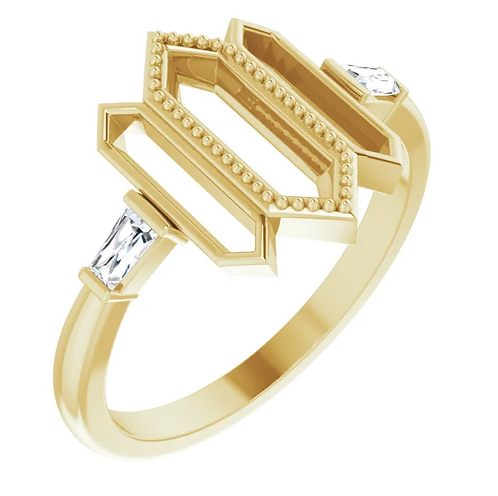 The Lily of the Incas Ring