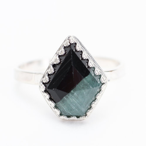 Bi-Colored Tourmaline Ring