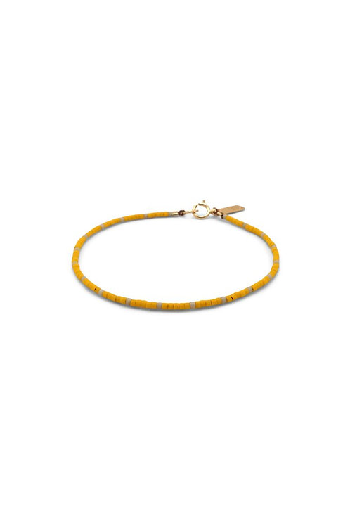 Capay Bracelet - Wool/Yellow