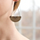 Thumbnail: Egypt Earrings - Graphite & Silver