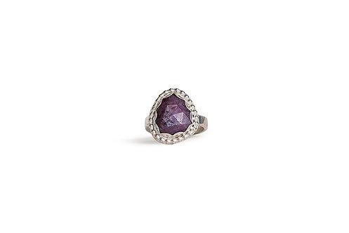 Trapiche Ruby Ring