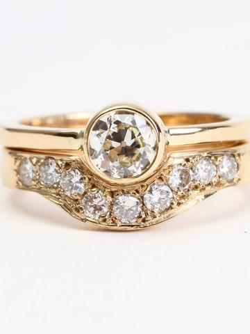 Bespoke Diamond Wedding Set