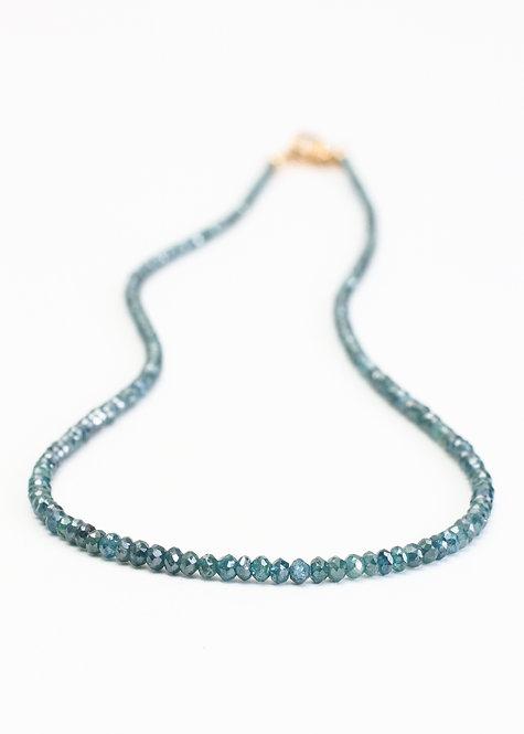 15ct Blue Diamond Necklace
