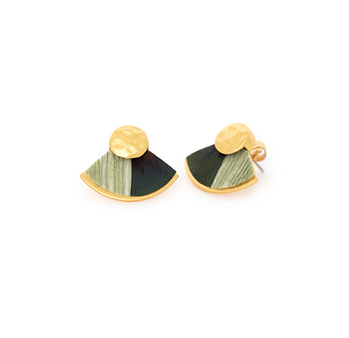 Spruce Stud Earrings