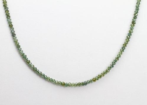 12ct Green Diamond  Necklace