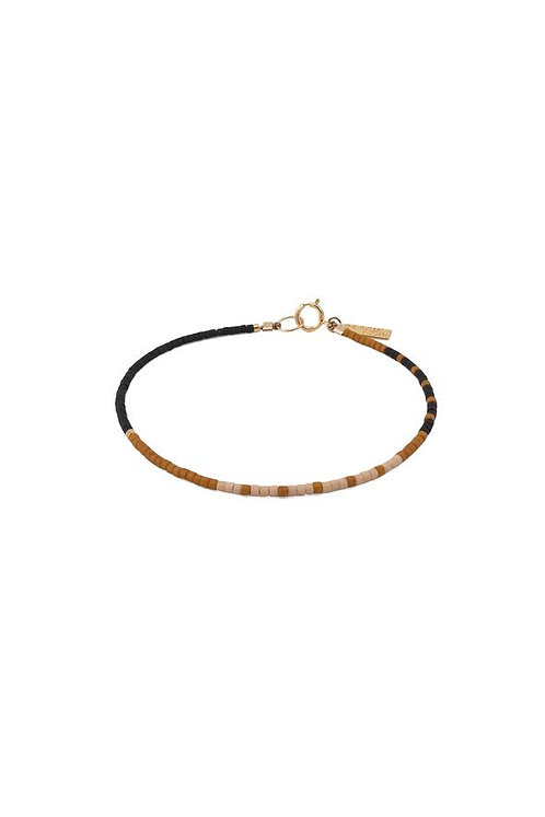Awatere Bracelet - Pink Clay