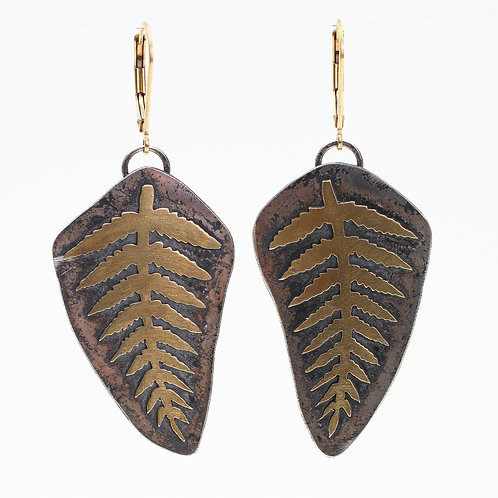 Fern Earrings pt. 3