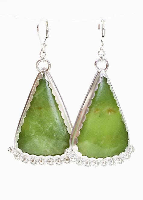 Mexican Jadeite Earrings