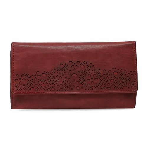 Araminta Wallet Clutch -  Red