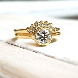 Diamond Ring & Tracer Band