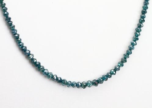 20ct Blue Diamond  Necklace