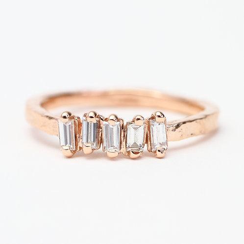 Rose Gold Azalea Ring