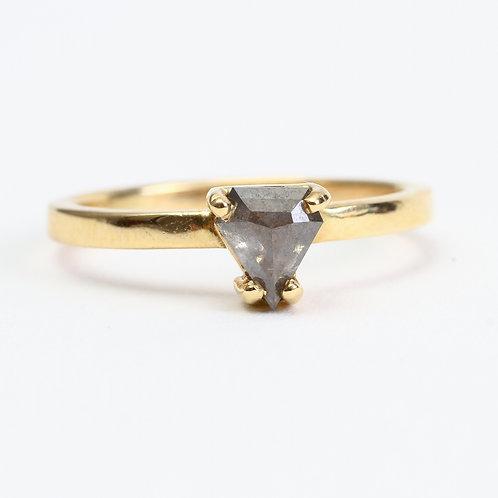 Purple Trillium Ring