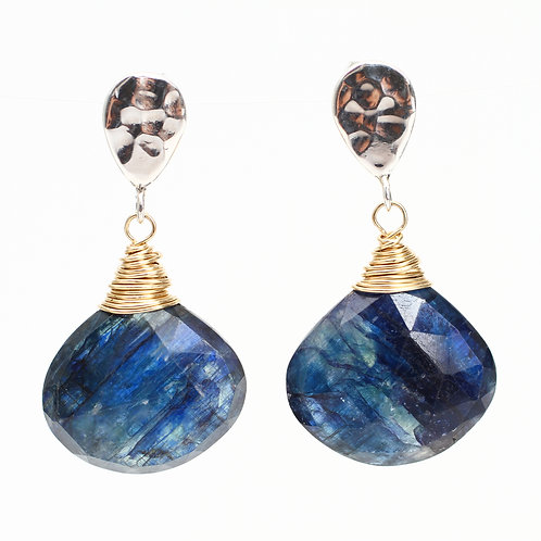Kyanite Stud Earrings