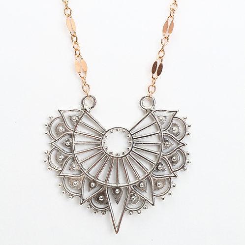 Mandala Charm Necklace