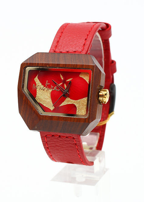 Juno Red Mistura Watch