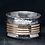 Thumbnail: Etched Ring with Brass Spinners