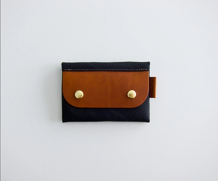 SALZBURG CARD WALLET -BLACK