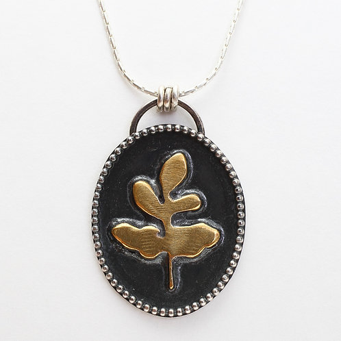Shadowbox Fern Necklace