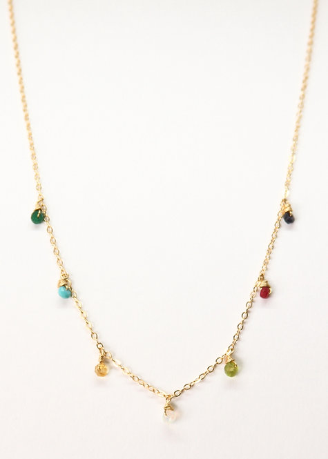 Choose your Multi Birthstone Necklace