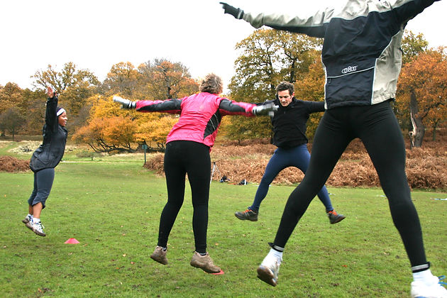 Fran Sirl Outdoor Fitness in Richmond Park South West London