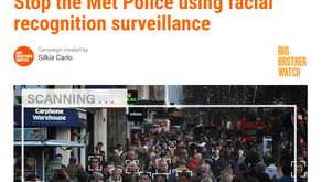 Metropolitan Police using facial recognition... stop the surveillance
