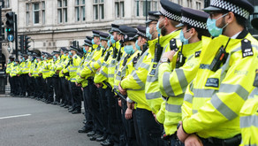 Police chasing peaceful protestors unlawfully, paid for by the tax payer...