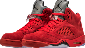 "Air Jordan 5 ""Red Suede"" confirmado no Brasil"