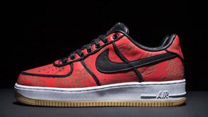 Essa versão exclusiva do Nike Air Force 1 com a CLOT será lançada na Black Friday