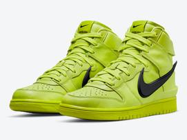 """Nike Dunk High x AMBUSH """"Atomic Green"""" chega ao Brasil"""