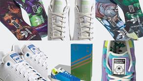 """adidas Stan Smith Primegreen """"Character Pack"""" usa materiais recicláveis e seu personagem favorito"""