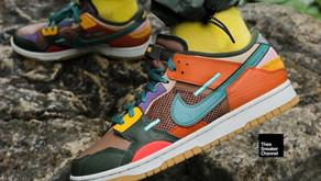 Confira as duas cores do Nike Dunk Low Scrap que chegam ao Brasil em breve