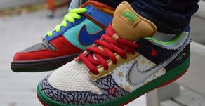Brasil na Cena: Nike SB What The Dunk