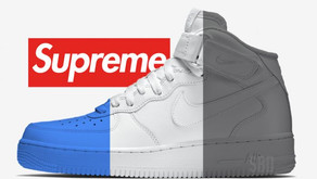 A próxima colaboração da Supreme com a Nike é um Air Force 1 Mid