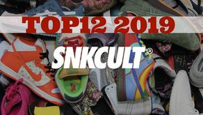 Sneaker Cult Top 12 - 2019 - @vinisnk