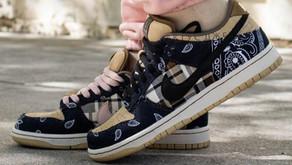 Verdadeiro ou Falso? Saiba analisar um par original do Nike SB Dunk Low x Travis Scott