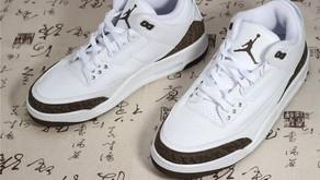 Depois de 17 anos, o Air Jordan 3 - Mocha - deve voltar em Dezembro para o mercado