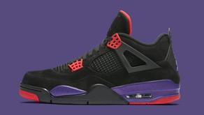 O Air Jordan 4 - Raptors - chega essa semana ao Brasil