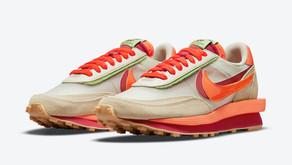 Informações de lançamento do Nike LDWaffle em colaboração com a Clot e Sacai no Brasil