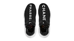 Será que o novo tênis do Pharrell é em parceria com a Chanel?