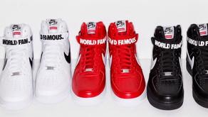 Nike Air Force 1 X Supreme