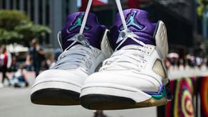 Meu Grail: Air Jordan V Grape