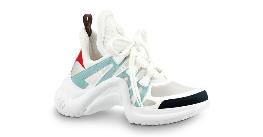 Conhe 231 A O Archlight O Chunky Sneaker De Luxo Da Louis