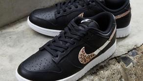 O Nike Dunk Low ganhou um swoosh de Leopardo