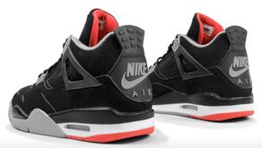 Air Jordan 4 - Bred - com Nike Air, deve voltar às lojas depois de 20 anos