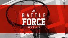 Nike promove BATTLE FORCE São Paulo para comemorar 35 Anos Do Air Force 1