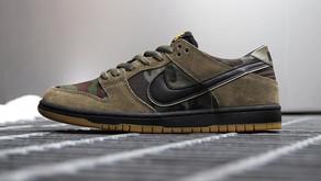 Chega ao Brasil uma versão do Nike SB Dunk Low que foi influenciado pelo padrão militar